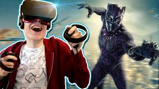 BLACK PANTHER VR GAME! | Marvel Powers United VR (Oculus Rift + Touch Gameplay)