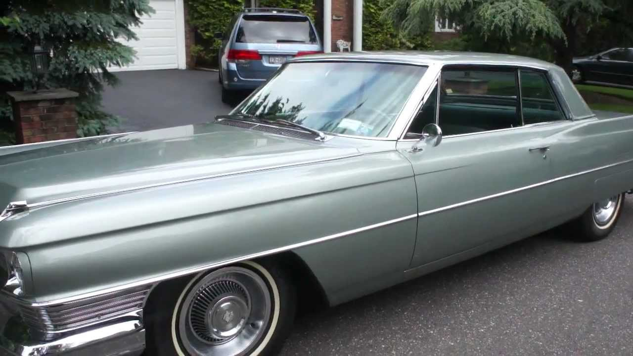 ~~SOLD~~1964 Cadillac Coupe Deville~Absolutly Beautiful~Sea Foam Green - YouTube