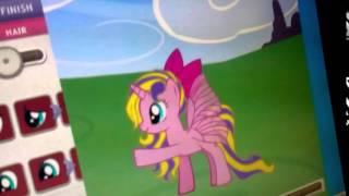 Как сделать магию у пони от