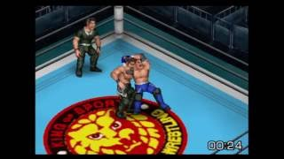 Fire Pro Wrestling Returns - AJ Styles vs. Shungo Nakata | PS2 Gameplay