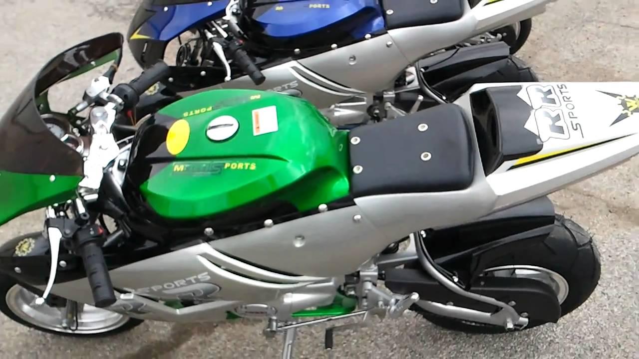 Ninja Mini Bike Manuel Pocket Bike 110cc Ninja