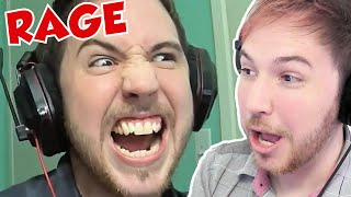 MY FUNNY RAGE COMPILATION - Noble Reacts to Raging Papa Noble