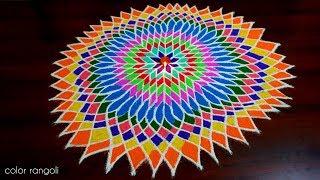 download lagu Beautiful 1000  Petal Lotus Kolam...pooja Room Kolam In gratis
