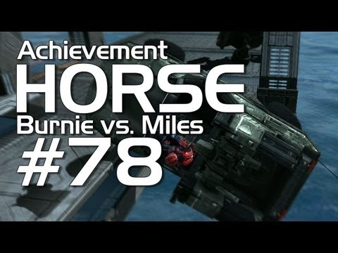Halo: Reach - Achievement HORSE #78 (Burnie vs Miles)