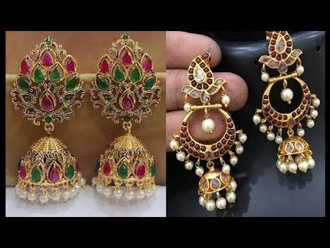 Latest New Fashion Festival Wear Earring Designs - She Fashion