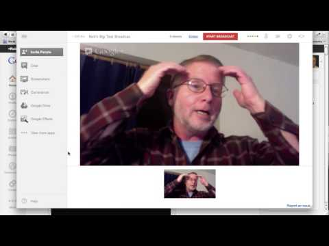 How to Broadcast Live Worldwide Using Google + and YouTube