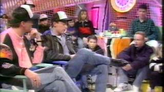 MARK STEVENS NICK PAGE NEIGHBOURS 1990'S GOING LIVE FULL INTERVIEW & PERFORMING HELP
