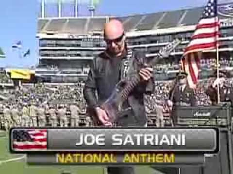 Joe Satriani Oakland Raiders Vs. Tennessee Titans National Anthem video