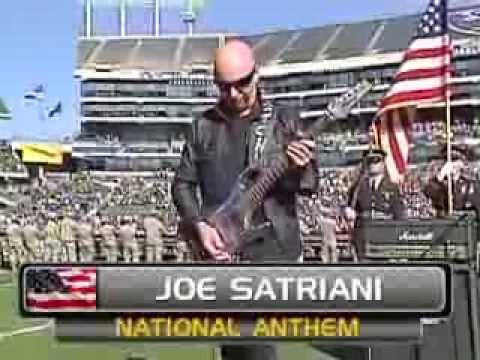 Joe Satriani Oakland Raiders Vs. Tennessee Titans National Anthem video