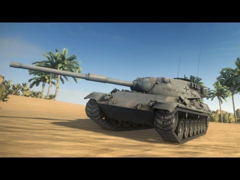 ◀World of Tanks - Prowling Leopards 8.5