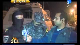 العاشرة مساء قوات الامن تغلق بعض منافذ  ميدان المطرية فى مواجهة جامعة الاخوان المسلمين