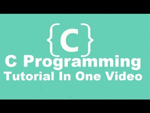 C Programming Tutorial | Learn C programming | C language