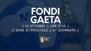 Serie A1M [6^]: Fondi - Gaeta 24-21