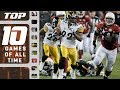 Top 10 Greatest Games Of All Time   NFL Films