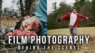 FILM PHOTOGRAPHY PORTRAITS - Behind the Scenes 2018