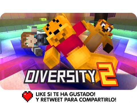Minecraft Diversity 2 - Parte 7: Laberinto video