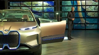BMW Vision iNEXT World Premiere in Los Angeles