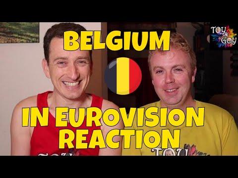 EUROVISION BELGIUM ALL SONGS REACTION