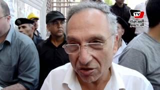 ممدوح حمزة في جنازة أحمد رجب: الصحافة كلها نقصت حتة