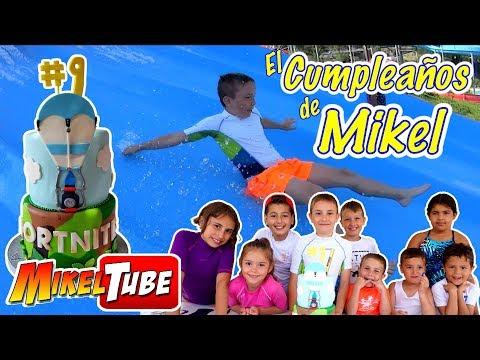 Mikel cumple 9 años y lo celebra con sus amigos