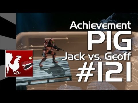 Halo 4 - Achievement PIG #121 (Jack vs. Geoff)