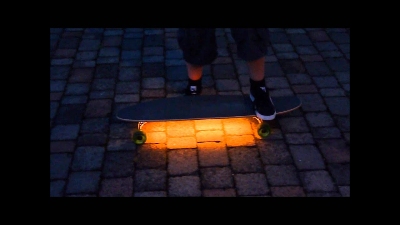 Led Beleuchtung Longboard : selfmade LED Longboard (Lightboard) 20 [german] [FullHD]  YouTube