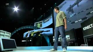 E3: Ghost Recon Future Soldier - Kinect Gunsmith Walkthrough