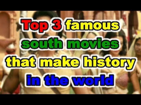 Top 3 famous south movies that make history  in the world || By KSK