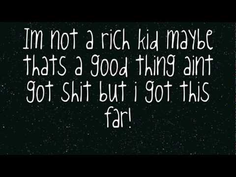Rich Kids - New Medicine Lyrics video