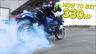 How to TURBO your Hayabusa 330hp - ProBoost set