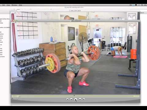 How To Power Clean (power clean tutorial) Image 1