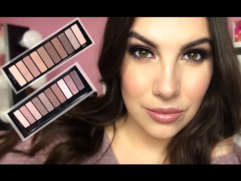 L'oreal La Palette Nude 1 & 2 Review & Tutorial
