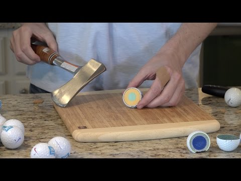 What's inside Golf Balls?