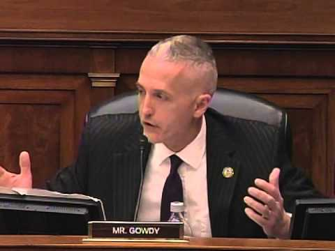 Gowdy Questions Assistant Secretary of Preparedness and Response about Ebola