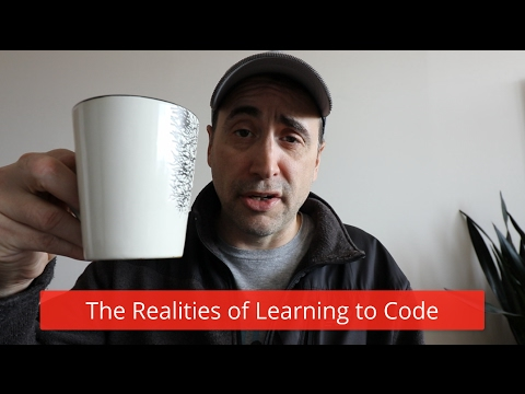 Realities of learning to code