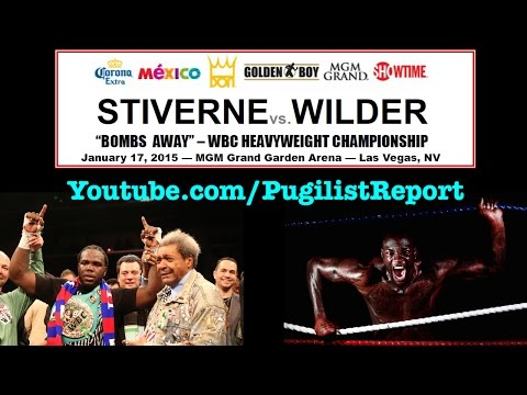 Bermane Stiverne — Deontay Wilder & Don King discuss the eagerly anticipated heavyweight showdown!