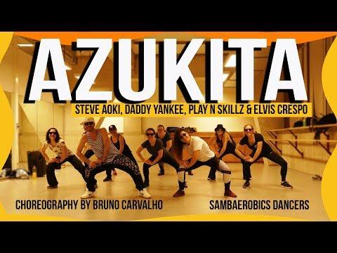 Azukita - Steve Aoki, Daddy Yankee, Play-N-Skillz & Elvis Crespo (Choreography)