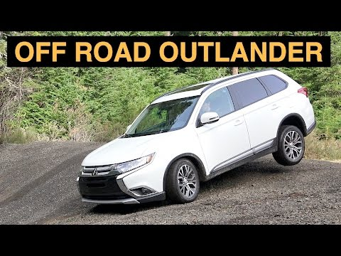 2016 Mitsubishi Outlander S-AWC - Review & Offroad Performance