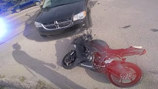 POLICE VS BIKERS 2017 - Insane POLICE Chase GETAWAY Ends in CRASH!!! [Ep.#31]