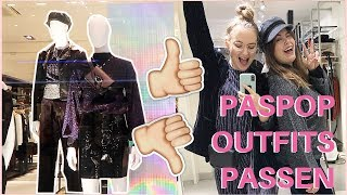 GEKKE PASPOP OUTFITS PASSEN | Picture Perfect? #1 | Wil & Tien