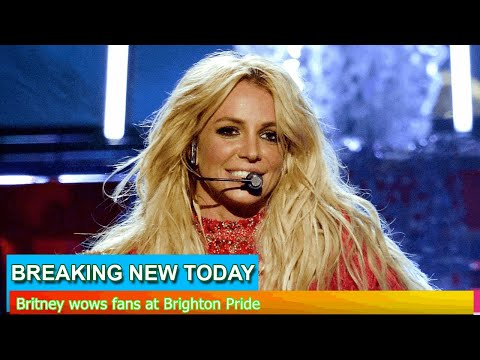 Breaking News - Britney wows fans at Brighton Pride