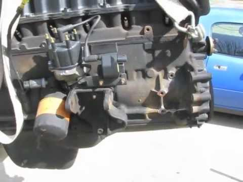 jeep wrangler yj disassembly  engine removal