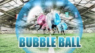 ICH TESTE BUBBLE BALL EXTREM FUSSBALL | TuTo Vlog #027