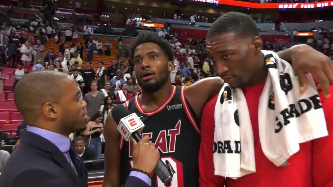 Justise Winslow says win over Celtics gives Heat confidence | ESPN