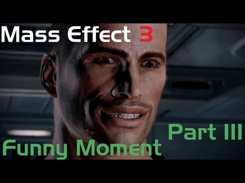 Mass Effect 3 Funny Moments/ Забавные моменты [RU] Part 3 (Citadel)