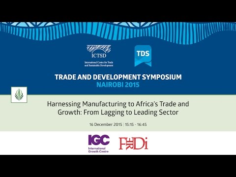 TDS LIVE | Harnessing Manufacturing to Africa's Trade and Growth: From Lagging to Leading Sector