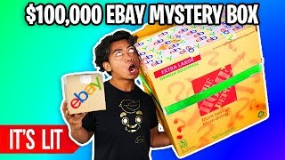 $25 VS $100,000 EBAY MYSTERY BOX! (Insane)