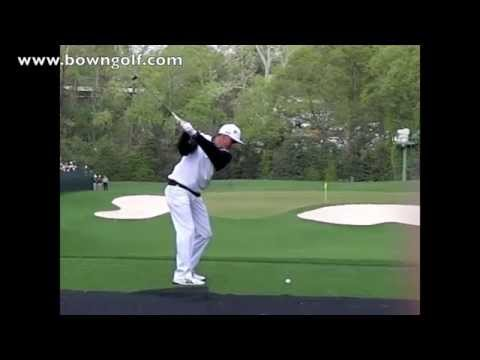 Rickie Fowler slow motion at the Masters 2014