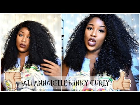 ALI ANNABELLE BRAZILIAN KINKY CURLY 2 MONTH IN-DEPTH REVIEW