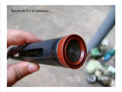 Montagem de mola pneumática na CBC Montenegro (gasram)